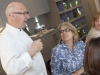 Chef Terry Laybourne greets the delegation, Cafe 21, Newcastle upon Tyne