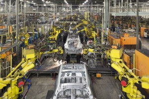Production Line, Nissan Motors UK, Sunderland