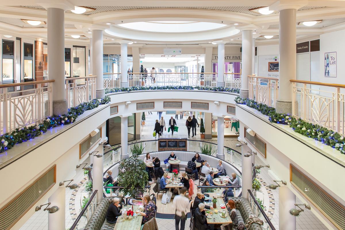 Eldon Gardens Shopping Centre.